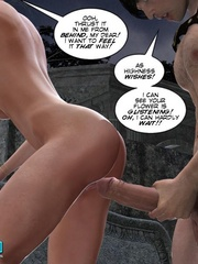Busty slutty 3d princess in great cock - Cartoon Sex - Picture 13