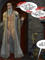 Old drunk nasty 3d king forcedhis wife suck - Cartoon Sex - Picture 7