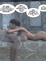 Old drunk nasty 3d king forcedhis wife suck - Cartoon Sex - Picture 15