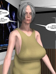 Horny naked 3d couple making virtual love via - Cartoon Sex - Picture 7
