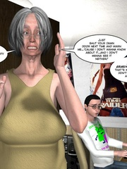 Horny naked 3d couple making virtual love via - Cartoon Sex - Picture 11
