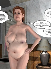 Pregant 3d nude babe getting dirty while in - Cartoon Sex - Picture 14