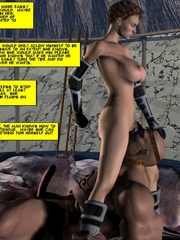 Slim body busty 3d blondie gets gang banges - Cartoon Sex - Picture 11