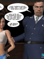 Horny old 3d college pricncipal forced his - Cartoon Sex - Picture 2