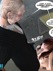Horny old 3d college pricncipal forced his - Cartoon Sex - Picture 5