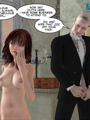 Horny old 3d college pricncipal forced his - Cartoon Sex - Picture 7