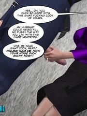 Slutty 3d teacher gets her tight love hole - Cartoon Sex - Picture 8