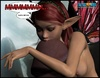 Cute little 3d elf pixie jack off huge hard pecker.