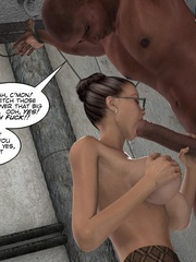 Super busty 3d girl gives an awesome head and - Cartoon Sex - Picture 9