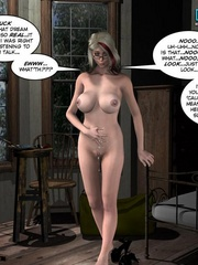 Sleeping all naked 3d babe woke up because of - Cartoon Sex - Picture 10