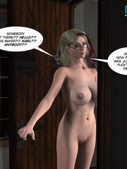 Sleeping all naked 3d babe woke up because of - Cartoon Sex - Picture 13