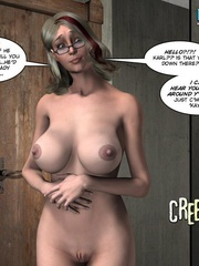 Sleeping all naked 3d babe woke up because of - Cartoon Sex - Picture 16