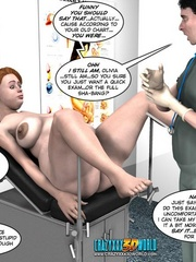 Busty pregant 3d milg gets her pussy fisted - Cartoon Sex - Picture 4