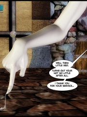 Ugly big 3d grog banging young cute human - Cartoon Sex - Picture 13