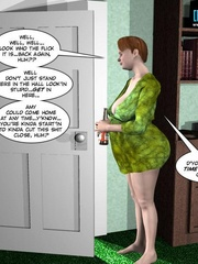 Big busty 3d mom forced her daughter's bf to - Cartoon Sex - Picture 5