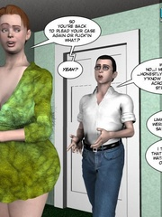 Big busty 3d mom forced her daughter's bf to - Cartoon Sex - Picture 6