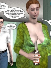 Big busty 3d mom forced her daughter's bf to - Cartoon Sex - Picture 8
