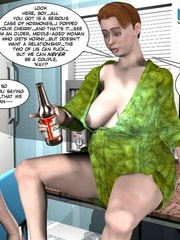 Big busty 3d mom forced her daughter's bf to - Cartoon Sex - Picture 10
