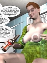 Big busty 3d mom forced her daughter's bf to - Cartoon Sex - Picture 12