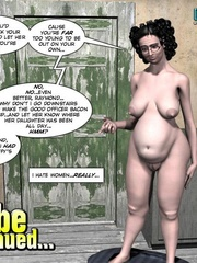 Blonde slutty 3d girl feels hard stiff cock - Cartoon Sex - Picture 16