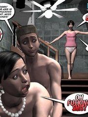 A horny 3d couple was caught banging in the - Cartoon Sex - Picture 2