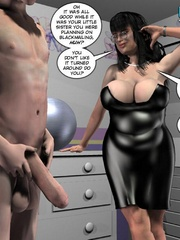 Young 3d babe and her big cocked lover were - Cartoon Sex - Picture 16