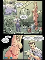 Crazy toon doctor takes tight red pantie off - Cartoon Sex - Picture 7