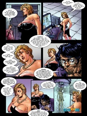 Two lusty cartoon chick getting naked and - Cartoon Sex - Picture 3
