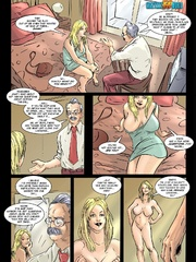 Blonde toon babe received in her mouth and - Cartoon Sex - Picture 11