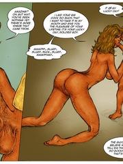 Sexy body cartoon beauty get her twat drilled - Cartoon Sex - Picture 11