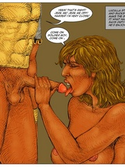 Sexy body cartoon beauty get her twat drilled - Cartoon Sex - Picture 12