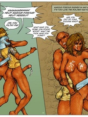 Sexy body cartoon beauty get her twat drilled - Cartoon Sex - Picture 14