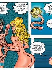 Lusty cartoon babes need a dp fucking after - Cartoon Sex - Picture 1
