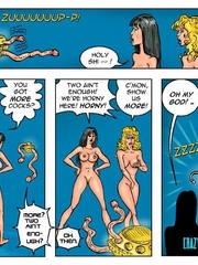 Lusty cartoon babes need a dp fucking after - Cartoon Sex - Picture 2