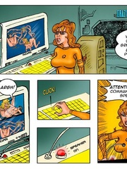 Lusty cartoon babes need a dp fucking after - Cartoon Sex - Picture 4