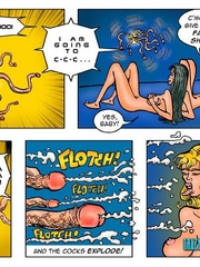 Lusty cartoon babes need a dp fucking after - Cartoon Sex - Picture 10