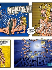 Lusty cartoon babes need a dp fucking after - Cartoon Sex - Picture 11