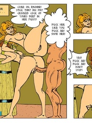 Perfect body toon girls in dirty threesome - Cartoon Sex - Picture 2