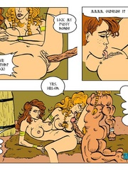 Perfect body toon girls in dirty threesome - Cartoon Sex - Picture 4