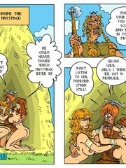 Two nasty toon chick can't share one viking - Cartoon Sex - Picture 10