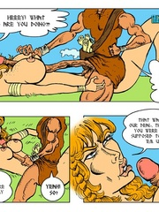 Horny blonde cartoon girl gives an awesome - Cartoon Sex - Picture 11