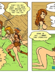 Horny blonde cartoon girl gives an awesome - Cartoon Sex - Picture 16