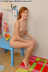 Cute redhead pounded by ebony man meat