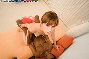 Innocent teen is stretched by thick ebon - XXX Dessert - Picture 5