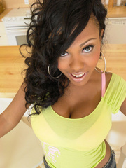 Lacey Duvalle is this ebony babe, we bring - XXX Dessert - Picture 1