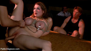 Busty bound and restrained girl craves r - XXX Dessert - Picture 4