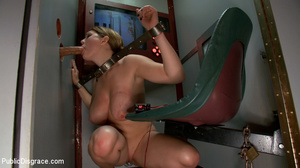 Busty bound and restrained girl craves r - XXX Dessert - Picture 10