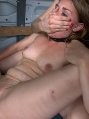 Gagballed enslaved beauty humiliated in the - XXX Dessert - Picture 13