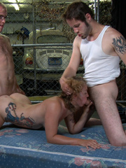Gagballed enslaved beauty humiliated in the - XXX Dessert - Picture 15