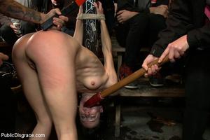 Manhandled petite captured babe gets her - XXX Dessert - Picture 3